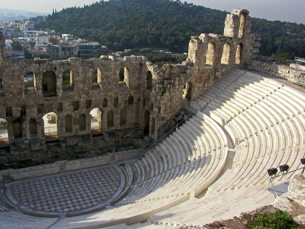 atene teatro greco grecia pinterest teatro google